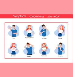 Coronavirus epidemic concept infographic vector