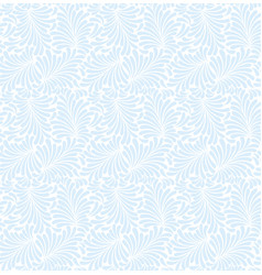 frost seamless pattern background and vector image