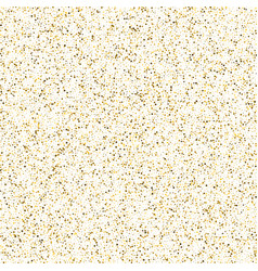 gold glitter corners for frame or border vector image