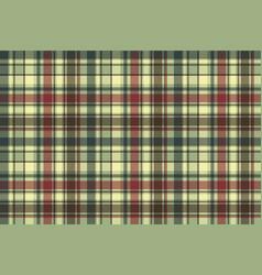 Green plaid diagonal seamless fabric texture vector