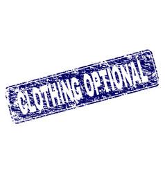 Grunge clothing optional framed rounded rectangle vector