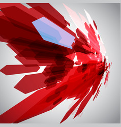 red arrows in motion vector image