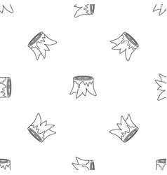 Tree trunk pattern seamless vector