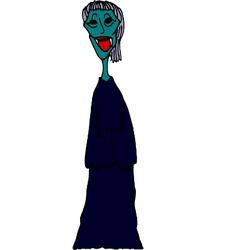 Zombie Nun vector