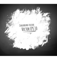 Hand drawn chalked texture vector image vector image