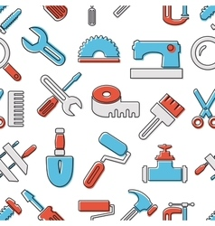Pattern seamless industrial vector image