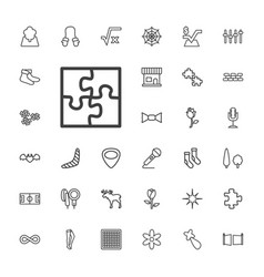 33 pattern icons vector