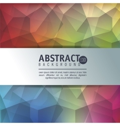 abstract background isolated icon design vector image