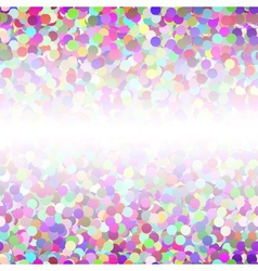 Abstract Colorful Confetti Seamless Background vector