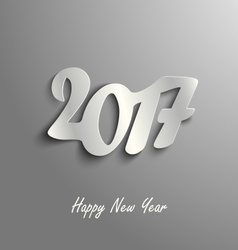 Abstract New Year card on a grey background vector