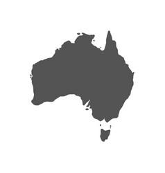 australian maps vector image