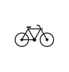 bicycke bike icon vector image