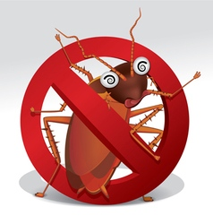 cockroach 01 vector image