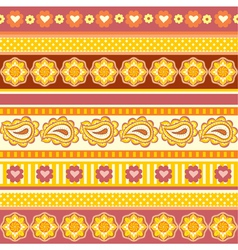 ethnic ornaments vector image