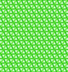 Green triangular background - seamless pattern vector