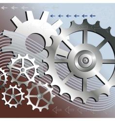 Mechanical background vector