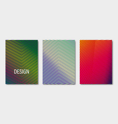 minimal covers design geometric halftone vector image