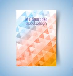 Multipurpose layout design2 vector