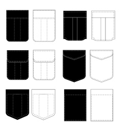 Pocket Icons vector