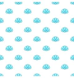 Shell pattern cartoon style vector image