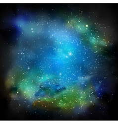 The galaxy vector
