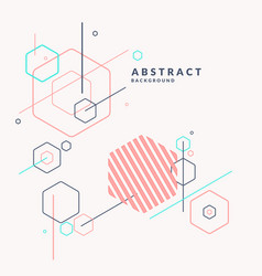 Trendy abstract background composition of vector
