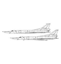 Tupolev tu-22m backfire vector
