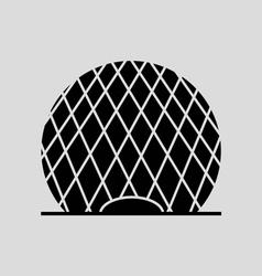 Aldar s Disc vector image vector image