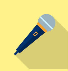 microphone icon voice recorder interview vector image vector image