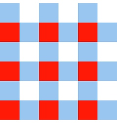 Blue serenity red white chessboard background vector
