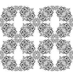 seamless pattern vintage vector image