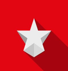 Modern icons - star vector image