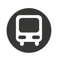 bus truck public car icon vector image