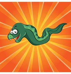 funny moray vector image