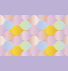 pale rose color gradient concept geometry pattern vector image