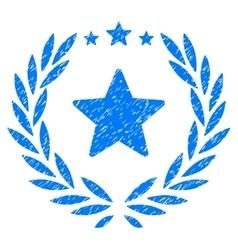 Proud Emblem Grainy Texture Icon vector