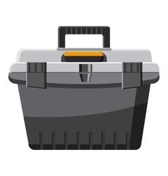 Toolbox icon cartoon style vector