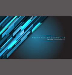 Abstract blue light hi-tech technology polygon vector