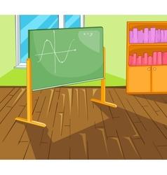 Classroom Cartoon vector image