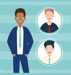 diversity man person vector image