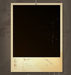 old picture frame vector image