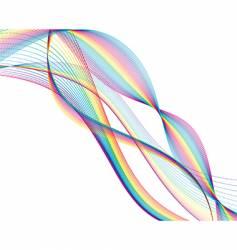 Wave background vector