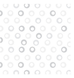 white background with circles vector image