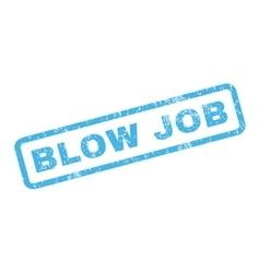 Blow Job Rubber Stamp vector image vector image