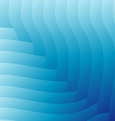 Abstract light blue waves background vector