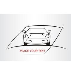 Car logo 005 vector image