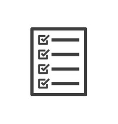 Compliance line icon images vector