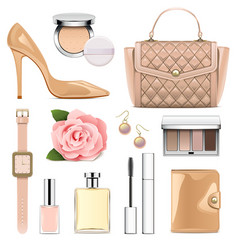 Fashion accessories set 2 vector