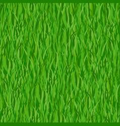 Green grass seamless pattern background vector