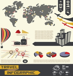 info graphic telephone social vector image